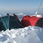 Восхождения на гору Большой Чимган (3309 м.) зимой