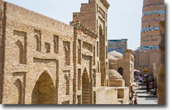 Hojashberdibiya Madrasah (1688-1834) - (Ichan-Kala)