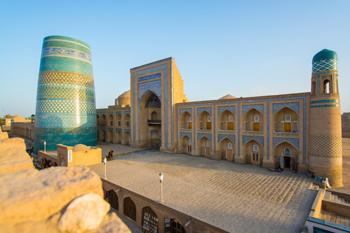 Ibrahim Khodja Madrasah (1888) - (Khiva District)