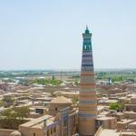 Dzhuma Mosque Minaret (10th to 13th centuries) - (Ichan-Kala)