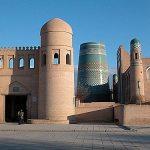 Shakhimardon Minaret (18th century) - (Khiva District)