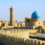Shikhmavlon Minaret (19th century) - (Khiva District)