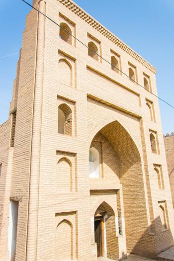 Uch Avliya Bobo Mausoleum (16th to 20th century) - (Ichan-Kala)