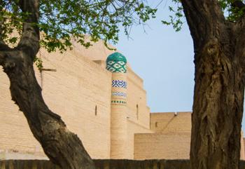 Bibi Hojar Mausoleum (1846) - (Khiva District)