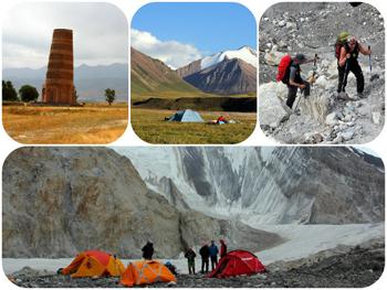 Spring in Komorchek trekking programm in Kyrgyzstan