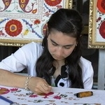 Bukhara's Gold Embroidery