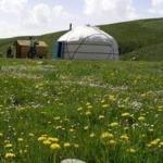 Город Ош и базовый лагерь под пиком Ленина